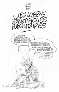 Les lobbys scientifiques publicitaires